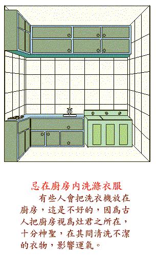 阳宅风水图解大全--厨房厕所篇